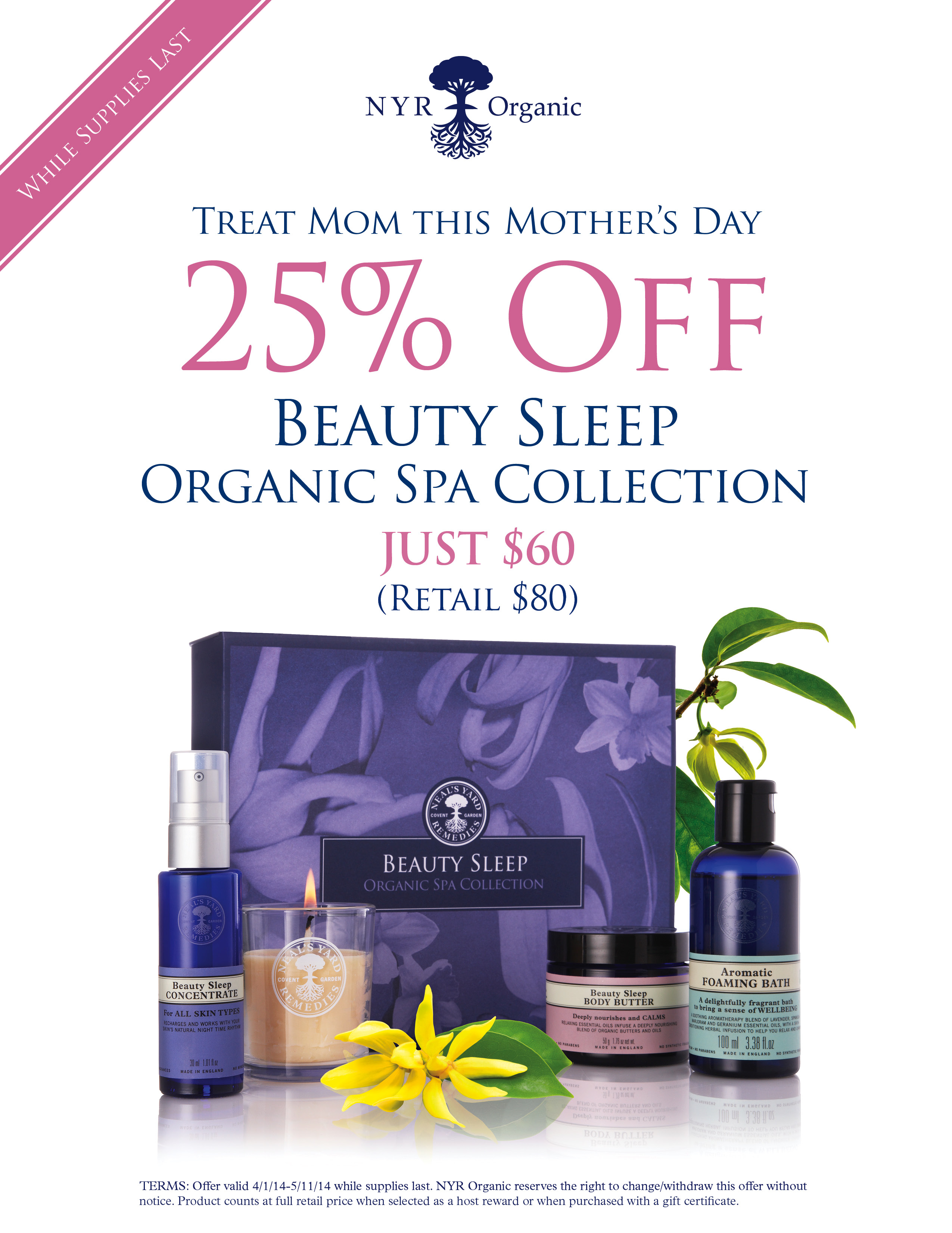 April mother's day special 2014 offer 20142