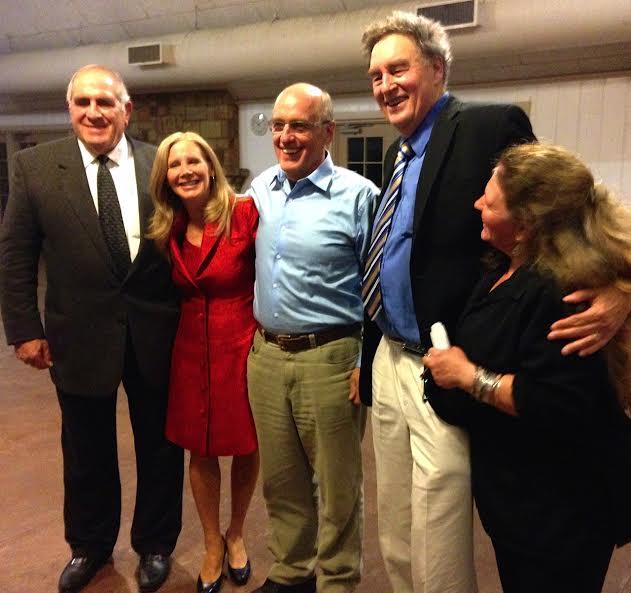Dr. Strayder, Nancy Addison Dr. William Osmunson, Dr. Paul Connett