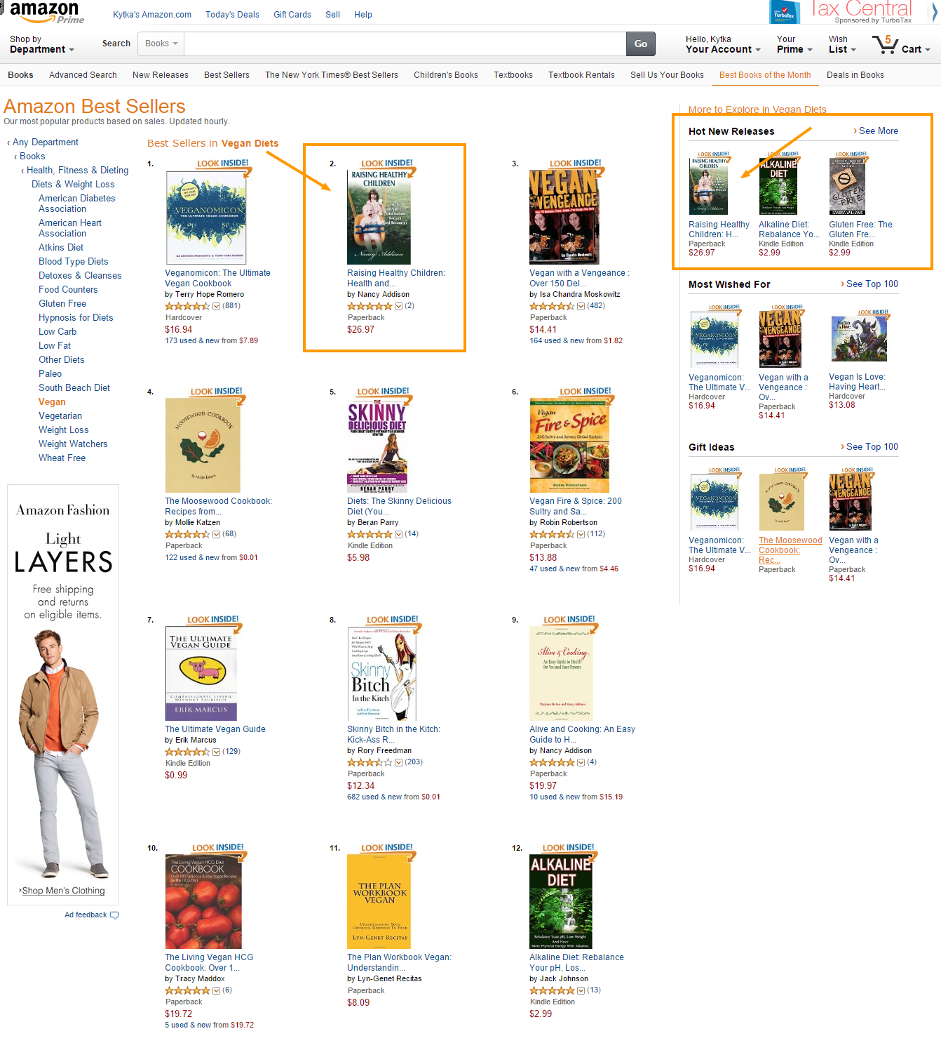 Bestsellers amazon screen shot - copy